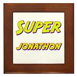 Super jonathon Framed Tile