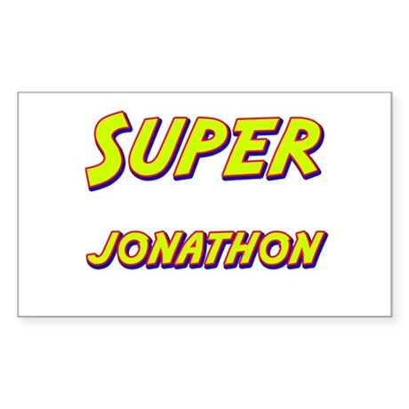 Super jonathon Rectangle Sticker