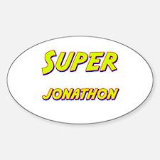Super jonathon Oval Decal