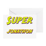 Super jonathon Greeting Card