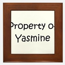 Cool Yasmine Framed Tile
