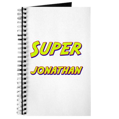 Super jonathan Journal
