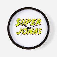 Super jonas Wall Clock