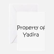 Cute Yadira Greeting Card