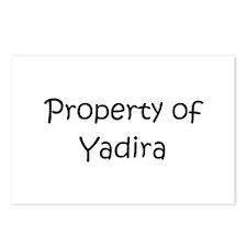 Unique Yadira Postcards (Package of 8)