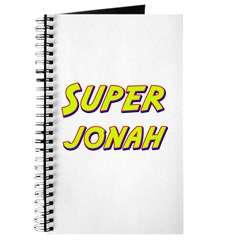 Super jonah Journal