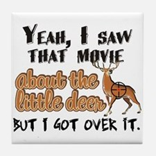 That Little Deer Movie Tile Coaster