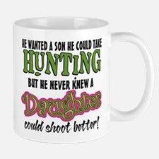 Daughters Shoot Better Small Small Mug