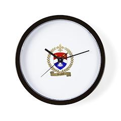 DUGUAY Family Crest Wall Clock