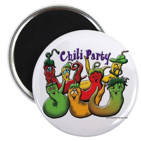 Chili Party 2 Magnet