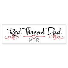 Red Thread Dad Bumper Bumper Sticker