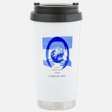Peace Poster Stainless Steel Travel Mug