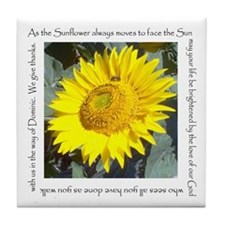 As the Sunflower always moves to face the sun