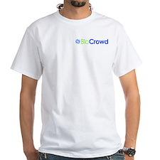 BioCrowd.com T-Shirt (white)