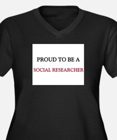 Proud to be a Social Researcher Women's Plus Size