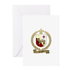 DUGAST Family Crest Greeting Cards (Pk of 10)