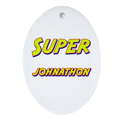 Super johnathon Oval Ornament