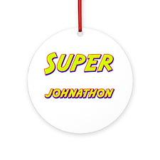 Super johnathon Ornament (Round)