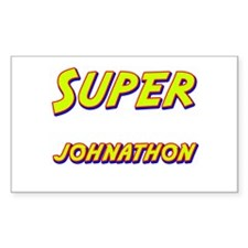 Super johnathon Rectangle Decal