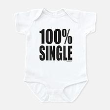 100% SINGLE Infant Bodysuit