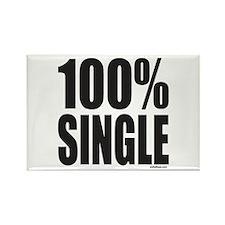 100% SINGLE Rectangle Magnet (10 pack)