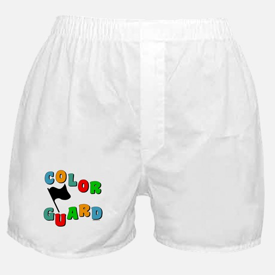 Colorful Guard Boxer Shorts