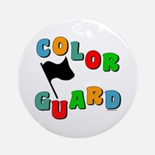 Colorful Guard Ornament (Round)