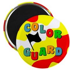 Colorful Guard Magnet