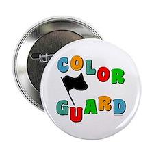 """Colorful Guard 2.25"""" Button"""