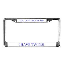 Cute Twins License Plate Frame