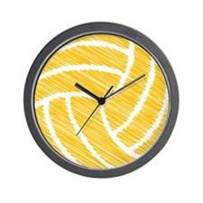 scribble ball Wall Clock