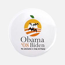 "Obama Halloween 3.5"" Button"