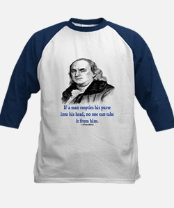 FRANKLIN QUOTE Kids Baseball Jersey