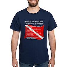 Scuba Buddy Narced? T-Shirt