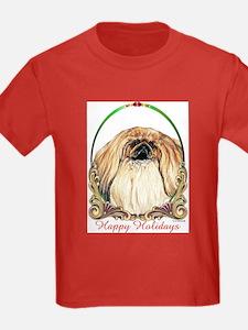Pekingese Happy Holidays T