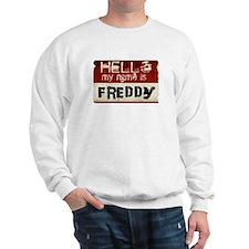 My name is Freddy Sweatshirt