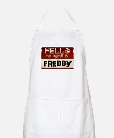 My name is Freddy BBQ Apron