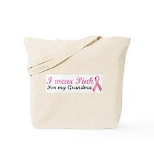 I wear Pink for my Grandma Tote Bag