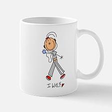 I Walk Mug