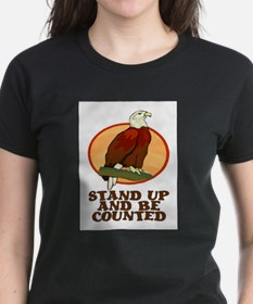 STAND UP AND BE COUNTED Tee