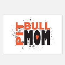Pit Bull Mom Postcards (Package of 8)