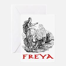 FREYA Greeting Card