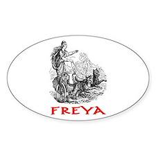 FREYA Oval Decal