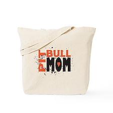 Pit Bull Mom Tote Bag
