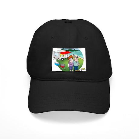Happy Campers Black Cap