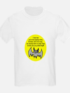 BAT POOP HALLOWEEN DESIGN T-Shirt
