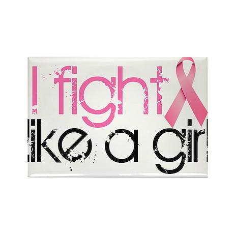 I fight like a Girl Rectangle Magnet