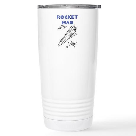 ROCKET MAN Stainless Steel Travel Mug