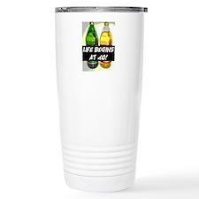 LIFE BEGINS AT 40! #3 Travel Mug
