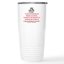 GONZO QUOTE (ORIGINAL) Travel Mug
